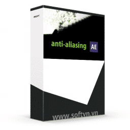 Anti-aliasing for After Effects logo