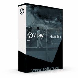 V-Ray for Houdini logo