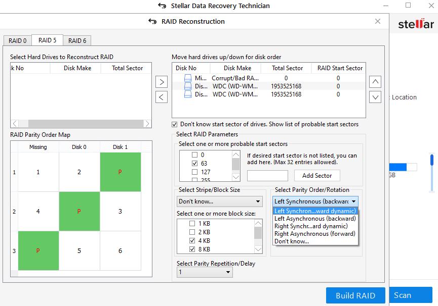 4-stellar-data-recovery-technician-enter-parameters