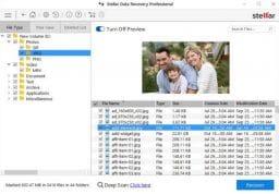 Stellar Data Recovery Professional 3
