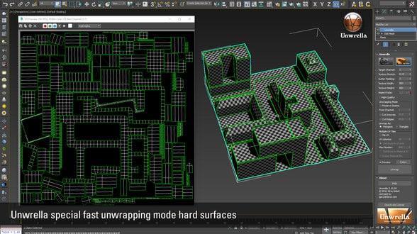 Unwrella_310_hard_surface_unwraping