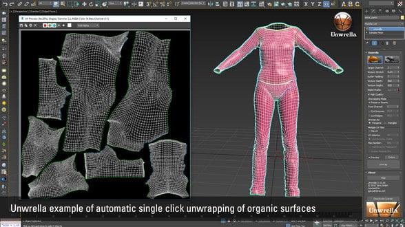 Unwrella_310_organic_surface_unwrapping