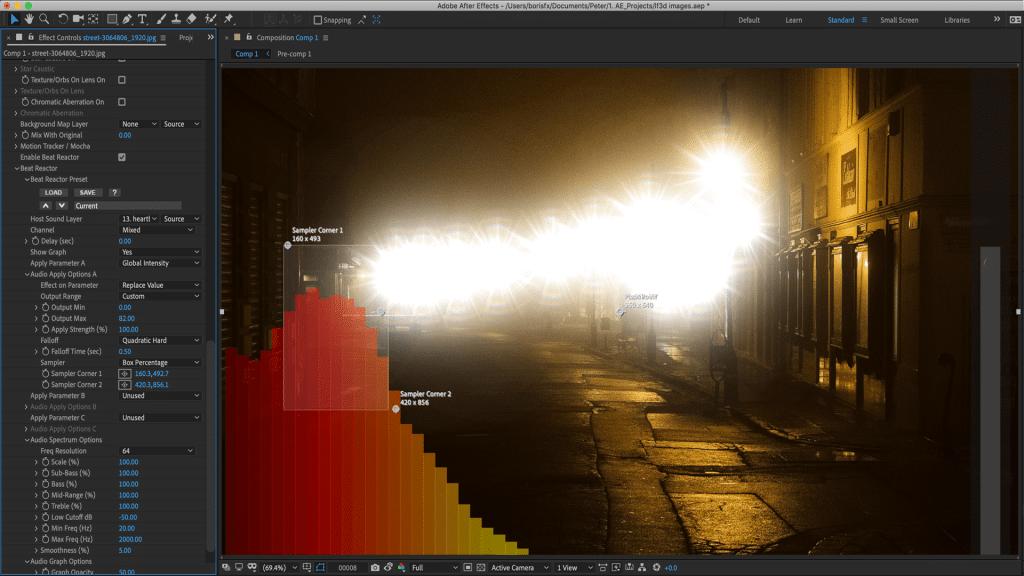 10.LensFlare3D-BeatReactor